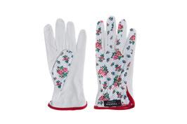 Frauen-Gartenhandschuh mit Rosenmotiv
