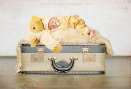 Original Anne Geddes Häschen Kostüm für Newborn