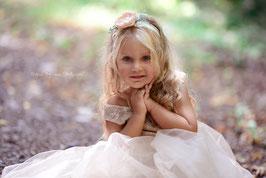 """Tüllkeid """"Leonie"""" beige für Fotografie oder Hochzeit"""
