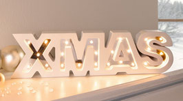 LED Deko XMAS
