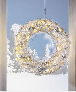 LED Deko Weihnachtskranz