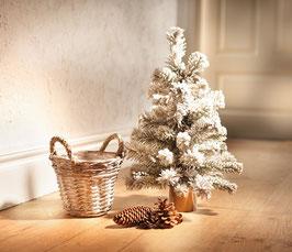 Kleiner Deko Weihnachtsbaum / Schneetanne