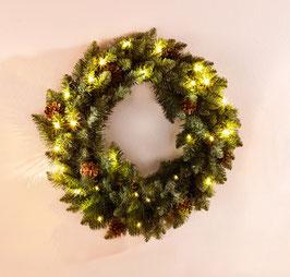 Tannenzweige Deko Weihnachtskranz
