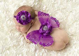 Schmetterlingsflügel & Haarband Set für Neugeborenen / Baby Fotografie