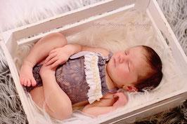 Body aus spitze für Neugeboren Fotografie Vintage