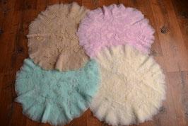Korbfüller oder Teppich für Fotografie