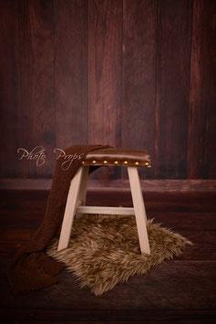 Kinder Hocker Stuhl für Fotografie Prop Vintage