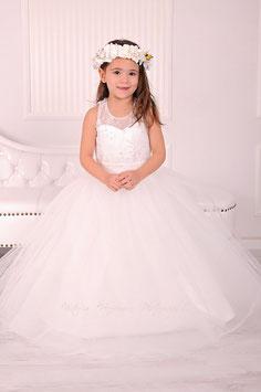 """Tüllkeid """"Leonie"""" weiß für Fotografie oder Hochzeit"""