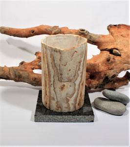 Teelichthalter Aragonit