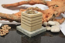 Räucherlampe Sandstein