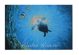 Aloha Hawaii ポストカード