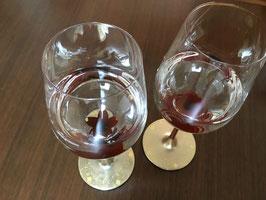 秀衡塗 ペアワイングラス「桜&梅」