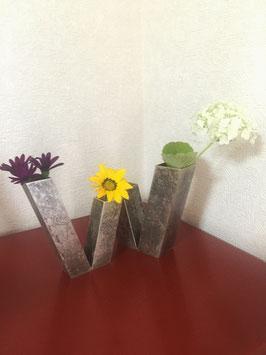 高岡銅器 DUET 花器ペアセット