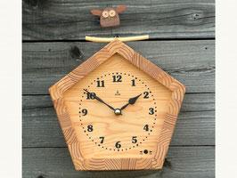 KIKORI びっくりフクロウの時計