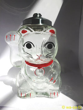 江戸硝子招き猫キャンディボックス
