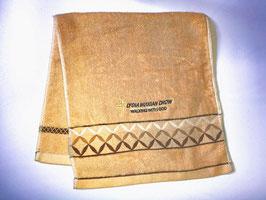 Fashion Soft  Cotton Embroidery  Bath Towel 28 * 13 inches(  ) 提花菱形时尚柔软纯棉刺绣浴巾 28* 13英寸(巧克力色)