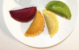 Five-star Praise Lydia & Enoch Handmade Rainbow Dumplings Shrimp Leek  五星好评手工彩虹虾菲菜饺 50只
