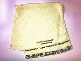 Auspicious Cloud Fashion Soft  Cotton Embroidery  Bath Towel 28 * 13 inches ( Gray ) 祥云时尚柔软纯棉刺绣浴巾 28* 13英寸(灰色)