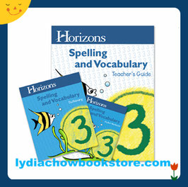 Horizons 3rd Grade Spelling & Vocabulary Set