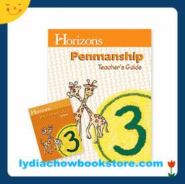 Horizons 3rd Grade Penmanship Set
