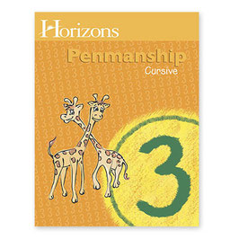 Horizons 3rd Grade Penmanship Student Book  地平线三年级书法学生本二