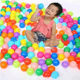 sb004 - 7cm海洋球 5CM波波球 环保加厚无毒无味 宝宝充气水池配套玩具/ 每100个  包邮