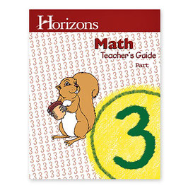 Horizons 3rd Grade Math Teacher's Guide 地平线三年级数学教师指南本