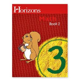 Horizons 3rd Grade Math Student Book 2  地平线三年级数学学生本二