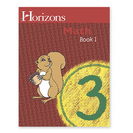 Horizons 3rd Grade Math Student Book 1 地平线三年级数学学生本一