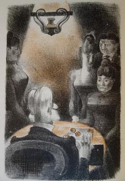 Pierre Benoit, Mademoiselle de la Ferté, H. Desoer, 1926, illustrations d'Yves Alix