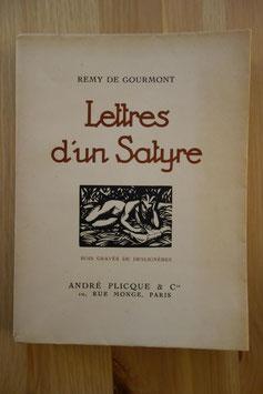 Remy de Gourmont, Lettres d'un Satyre, André Plicque & Cie, 1922