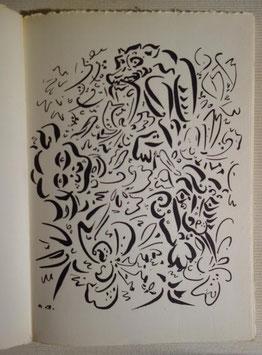 Tristan Tzara, Terre sur terre, Trois Collines, 1946, édition originale, dessins d'André Masson