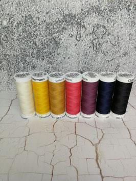 Gütermann, Garn, Allesnäher, 200 Meter, 100 % Polyester, verschiedene Farben