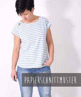 SOMMER.bluse, Papierschnittmuster, Größe 32 - 58, Bluse Kleid