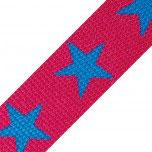 Gurtband Muster Sterne by Hanabi, Breite 3 cm bzw 30mm
