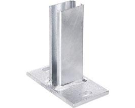 Pfostenträger S120 für Zaunpfosten bis Zaunhöhe 1230mm