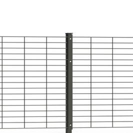 SCHMUCKZAUN LINEA | RAL7016 | Zaunhöhe: 1206mm