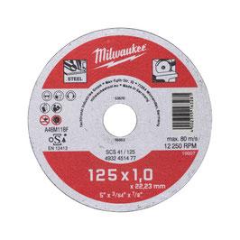 Metalltrennscheibe 125x1 mm Contr.