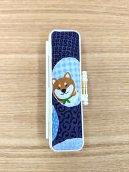 かわいい豆柴犬印セット / 青