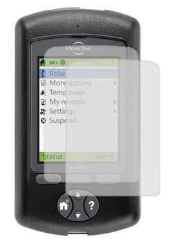Displayschutzfolie für den Omnipod PDM