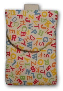 Schutztasche für das Freestyle Libre Lesegerät - Buchstaben