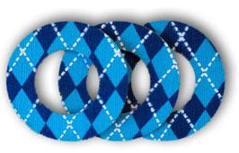 Fixierungstapes für den Freestyle Libre Sensor - Argyle Blue