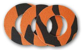 Fixierungstapes für den Freestyle Libre Sensor - Tiger