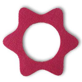 """Fixierungstapes """"Stern"""" für den Freestyle Libre Sensor - Pink"""