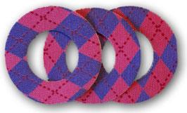 Fixierungstapes für den Freestyle Libre Sensor - Argyle Pink