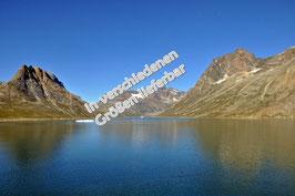 Grönland im Sommer auf Leinwand