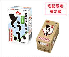 森永乳業 絹ごし豆腐6丁入