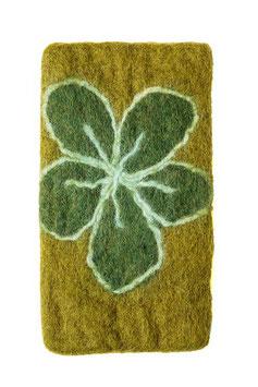 Handytasche aus Filz grün