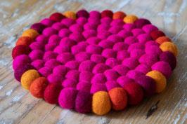 Untersetzer pink ∅ 20cm