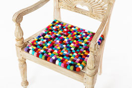 Sitzkissen quadratisch bunt